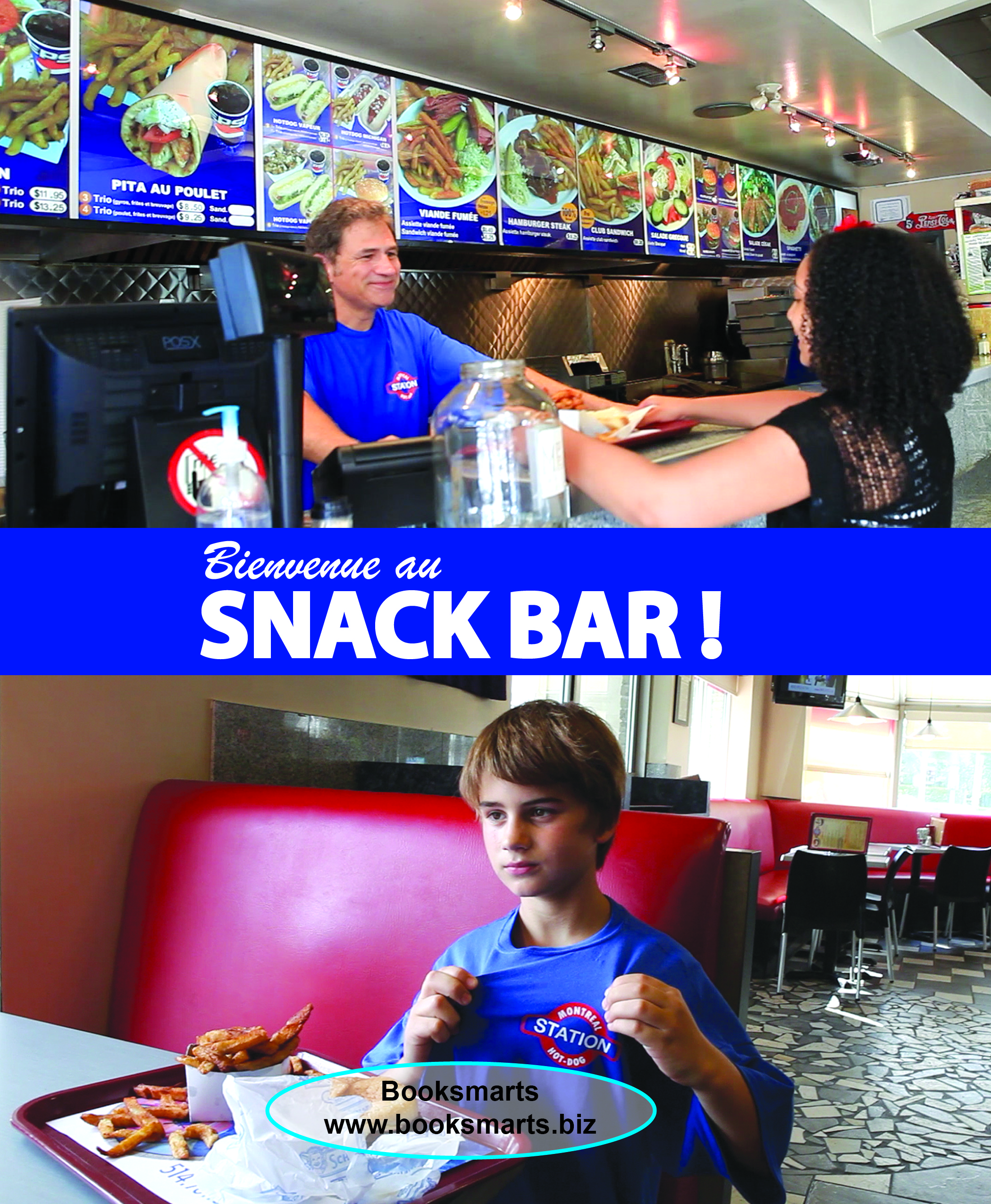 Snack-bar lesson commander un repas