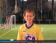 Equipement de soccer: Jeune fille