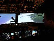 Le simulateur de vol CAE